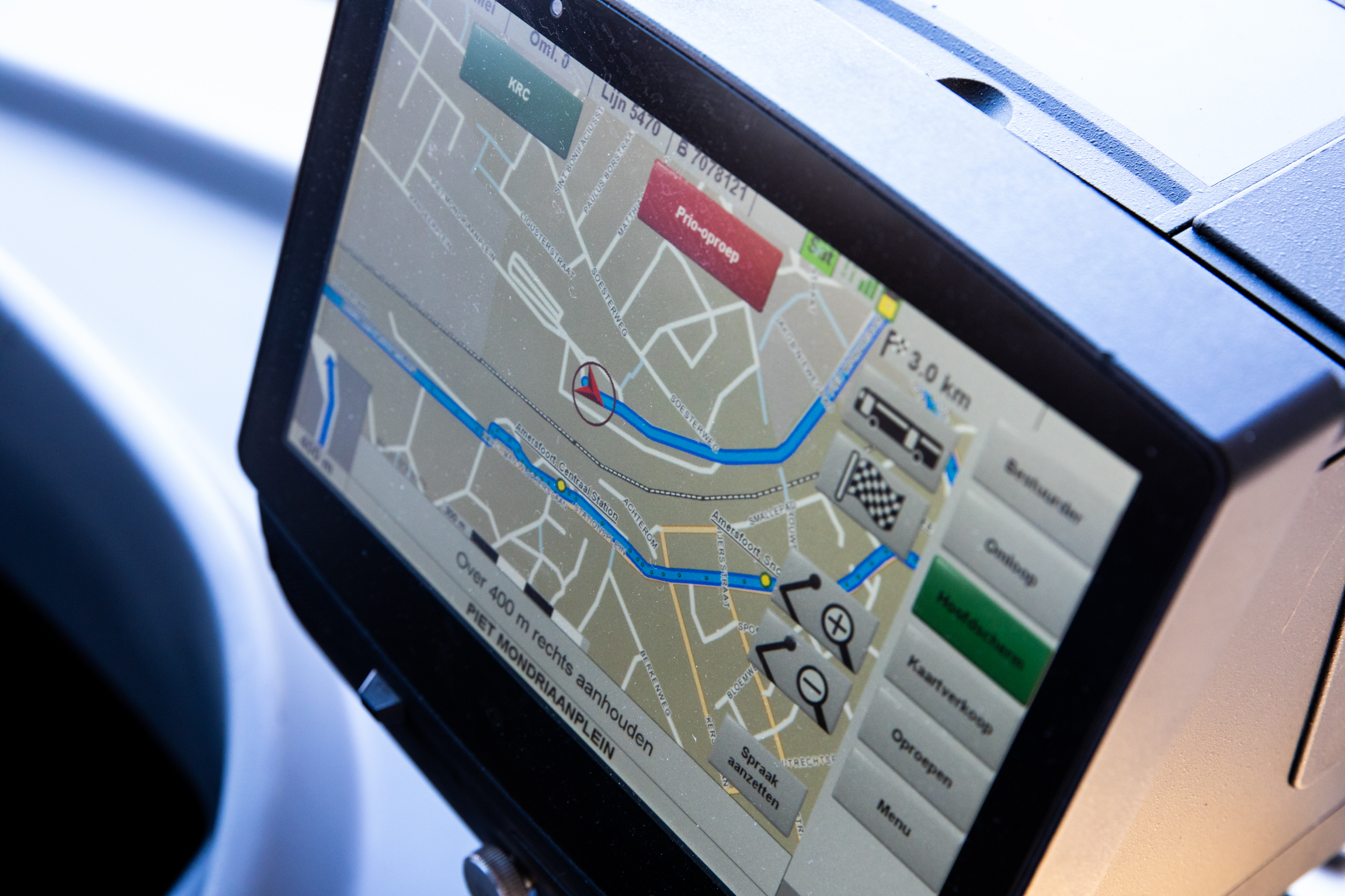 Keolis introduceert routebegeleidingssysteem voor chauffeurs in Utrecht en Almere